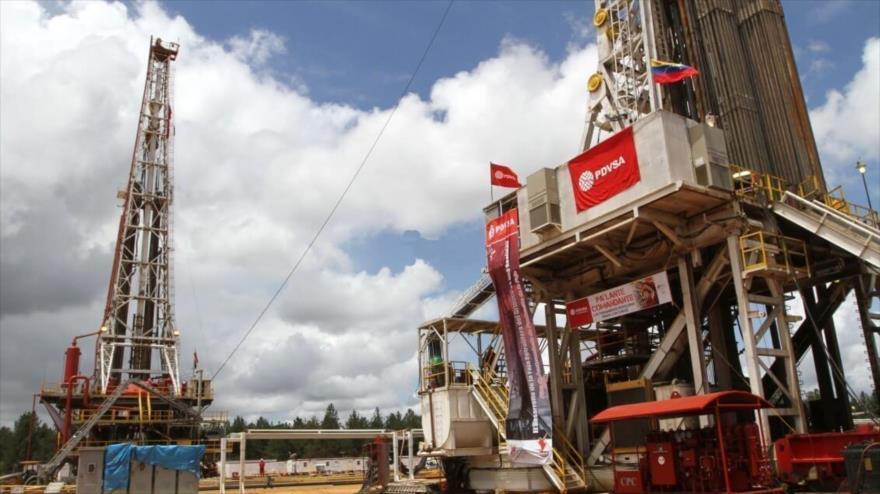 Instalaciones petroleras de la compañía estatal Petróleos de Venezuela (PDVSA).