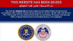 """EEUU """"confisca"""" sitios web de Press TV, Al-Alam y otros medios"""