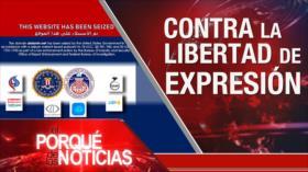 El Porqué de las Noticias: EEUU bloqueó varios sitios web. España aprueba los indultos. Rusia y Venezuela