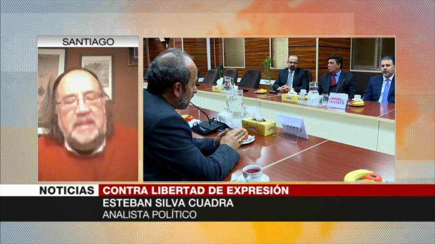 Silva Cuadra: Lógica imperial de EEUU silencia voces alternativas