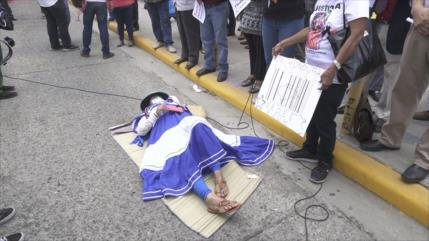 En Honduras luchan contra la 'entrega del territorio' de su país