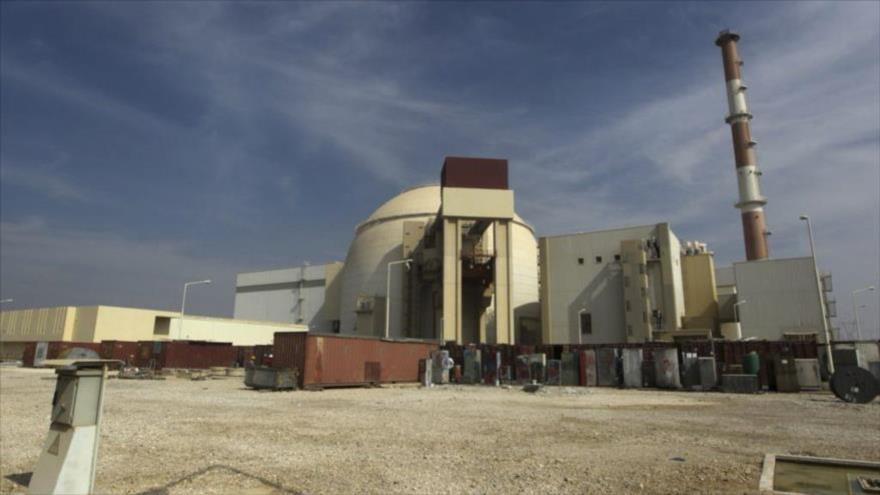 El edificio del reactor de la planta de energía nuclear de Bushehr en el sur de Irán. (Foto: Mehr News)