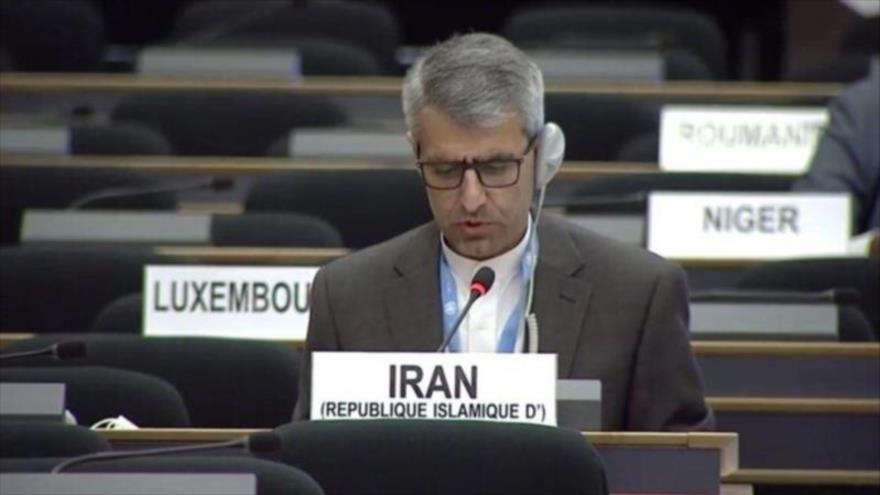 El representante permanente de la República Islámica de Irán ante la Oficina de las Naciones Unidas en Ginebra (Suiza), Esmail Baqai.