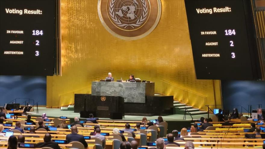 La ONU condena por 29.ª vez el bloqueo de EEUU contra Cuba | HISPANTV