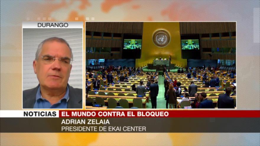 Zelaia: Es poco probable que fallo de ONU acabe bloqueo a Cuba