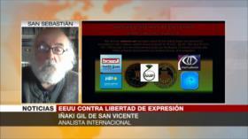 Gil de San Vicente: Bloqueo mediático de EEUU augura algo malo
