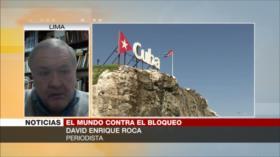 Roca: Bloqueo de EEUU a Cuba, medida atroz e injusta