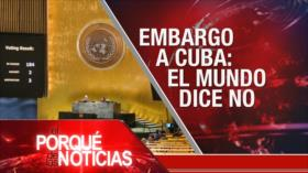 El Porqué de las Noticias: Confiscación de medios por EEUU. Bloqueo de EEUU contra Cuba. España indulta a los dirigentes independentistas