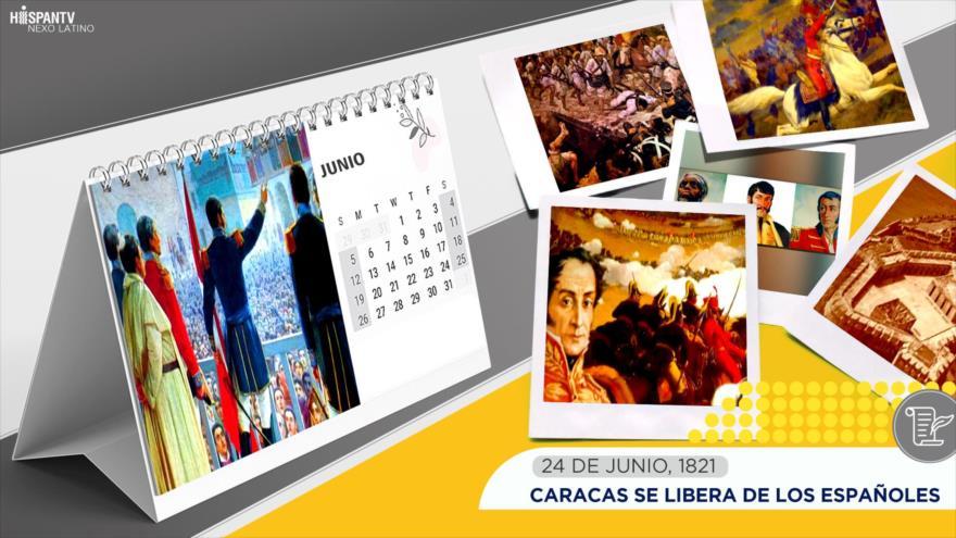 Esta semana en la historia: Caracas se libera de los españoles