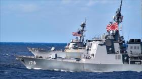 EEUU y Japón realizan maniobras militares en plena tensión con China
