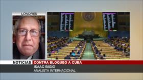 Bigio: Clave para fin del bloqueo a Cuba es presión internacional e interna