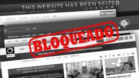 Hezbolá: EEUU busca ocultar sus crímenes con bloqueo de sitios web