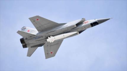 Rusia envía MiG-31K a Siria ante provocaciones del Reino Unido