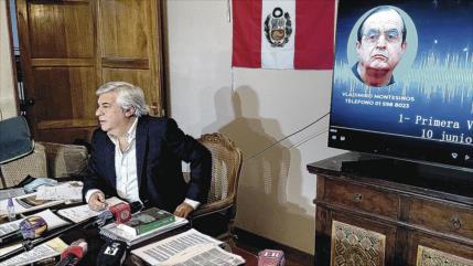 Revelan audios de sobornos para favorecer a Fujimori en elecciones