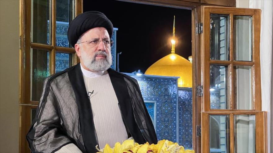 El presidente electo de Irán, Seyed Ebrahim Raisi, durante una entrevista televisiva en la ciudad santa de Mashad, 25 de junio de 2021. (Foto: IRIB)