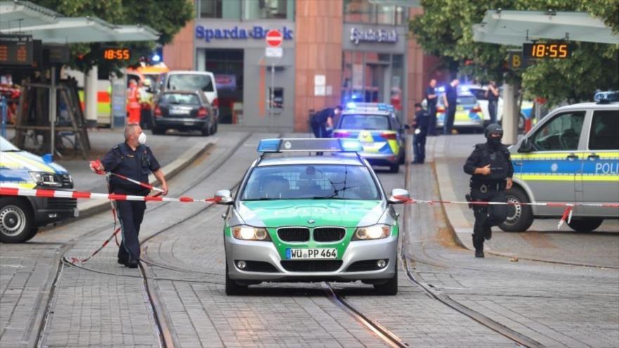 Vídeo: Ataque con cuchillo deja 3 muertos y 5 heridos en Alemania