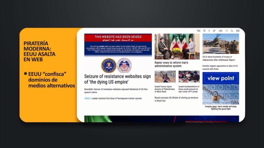 PoliMedios: Piratería moderna: EEUU asalta en Web