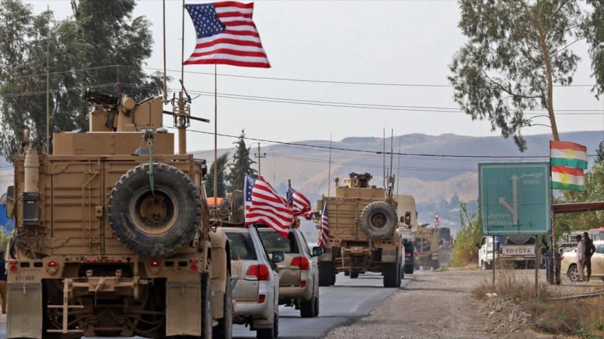 Vehículos de EE.UU. en Dohuk, Irak. (Foto: AFP)