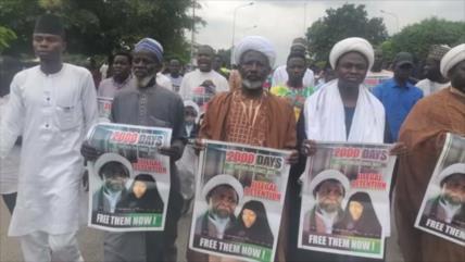 Los partidarios de Al-Zakzaky exigen su libertad incondicional