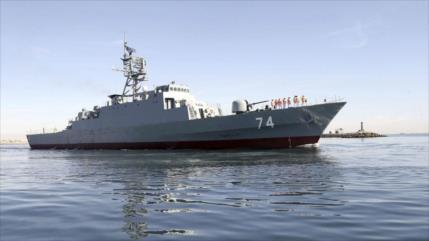 Armada iraní lleva a cabo gran entrenamiento militar en mar Caspio