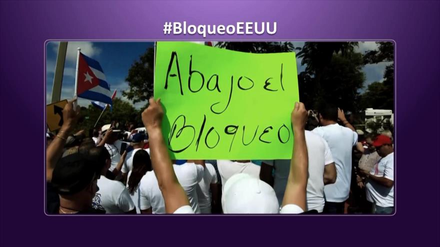 Etiquetaje: Bloqueo criminal de EEUU contra Cuba