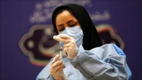 Irán valida su 2.ª vacuna anti-COVID-19 para uso de emergencia