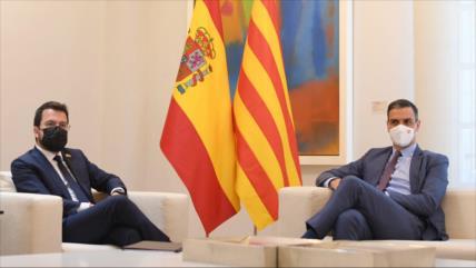 Sánchez y Aragonès pactan reanudar la mesa de diálogo en septiembre