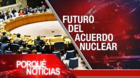 El Porqué de las Noticias: Sanciones contra Irán. Tensión Rusia-Occidente. Caos en Colombia