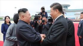 "Kim promete afianzar lazos con China a un ""nuevo punto estratégico"""