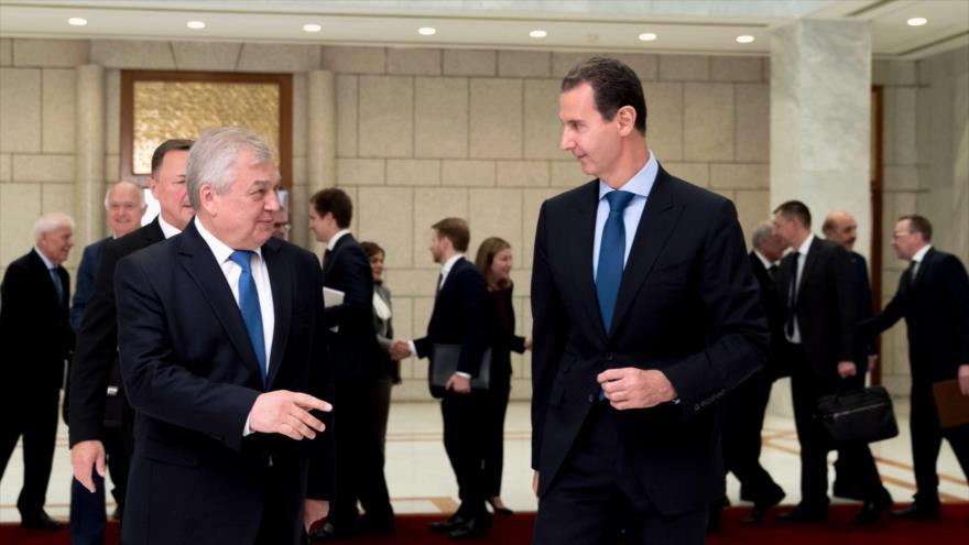 Siria y Rusia apuestan por fortalecer aún más sus lazos estratégicos | HISPANTV