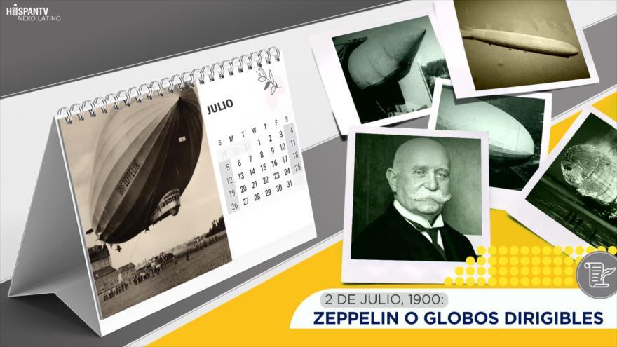 Esta semana en la historia: Zeppelin o globos dirigibles