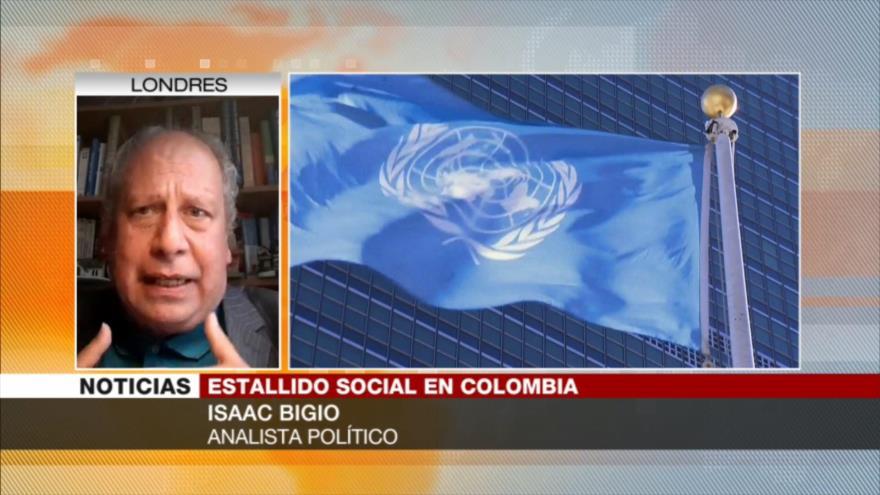 Bigio: Diálogo no funciona en Colombia porque Duque no quiere ceder