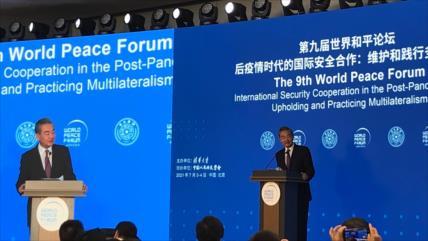 China advierte al mundo: Ojo, no toleraremos ninguna injerencia