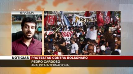 Cardoso: Protestas amenazan la continuidad de mandato de Bolsonaro