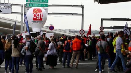 No cesan protestas de trabajadores en Francia