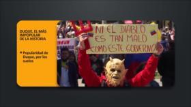 PoliMedios: Duque, el más impopular de la historia de Colombia