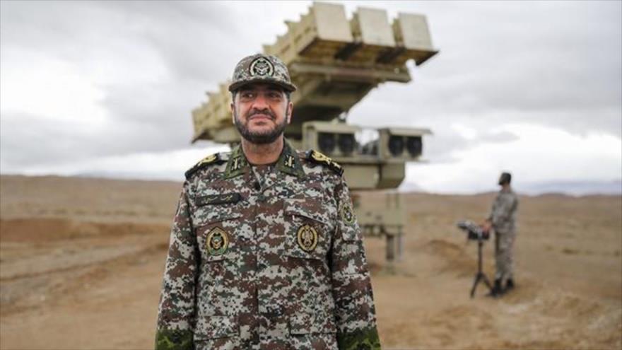 El comandante de la Fuerza de Defensa Antiaérea del Ejército iraní, el general de brigada Alireza Sabahi Fard.