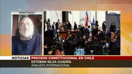Silva: Sin marchas, proceso constituyente en Chile es letra muerta