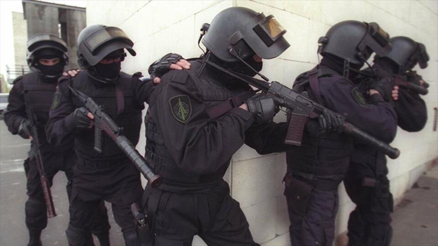 Agentes del Servicio Federal de Seguridad (FSB) de Rusia realizan operativos para arrestar a terroristas de Daesh. (Foto: Sputnik)