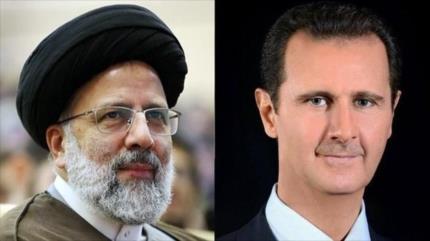 Al-Asad y presidente electo iraní apuestan por reforzar relaciones