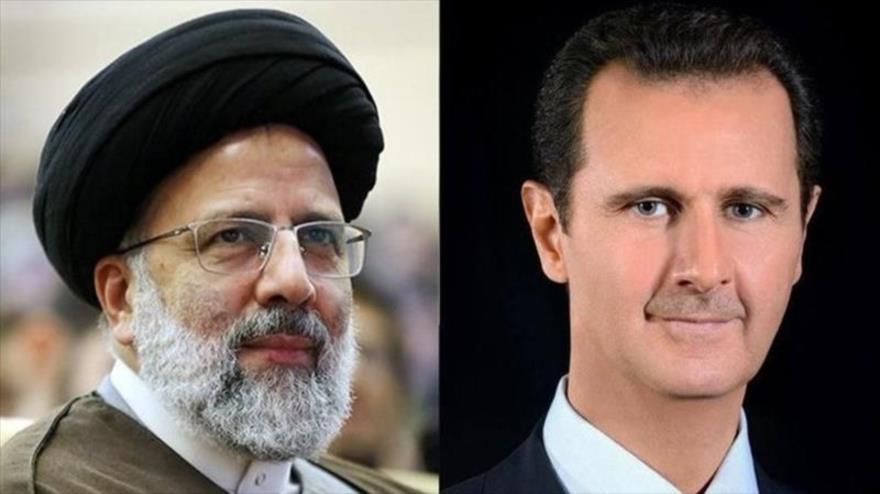 Al-Asad y presidente electo iraní apuestan por reforzar relaciones   HISPANTV