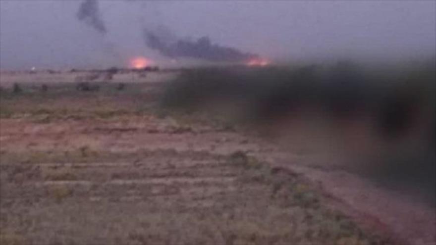 Vídeo: EEUU lo niega, pero misiles golpean su base en Siria