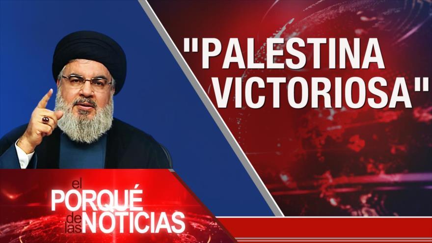 El Porqué de las Noticias: Palestina victoriosa. Amenazas cibernéticas. Violencia en México