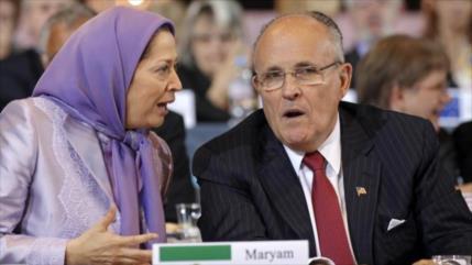 'EEUU usa a terroristas de MKO para promover su agenda destructiva'