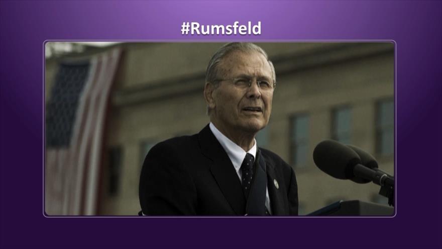 Etiquetaje: Muere Rumsfeld, defensor de torturas y abusos