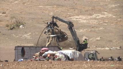 Israel destruye aldeas palestinas pese a rechazo internacional