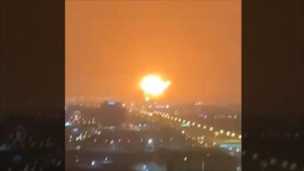 Una potente explosión sacude Dubái en Emiratos Árabes Unidos