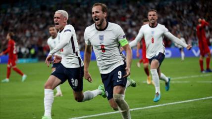 Inglaterra se clasifica para la final de Eurocopa contra Italia