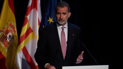 Datos privados del rey español se revelan por un error informático