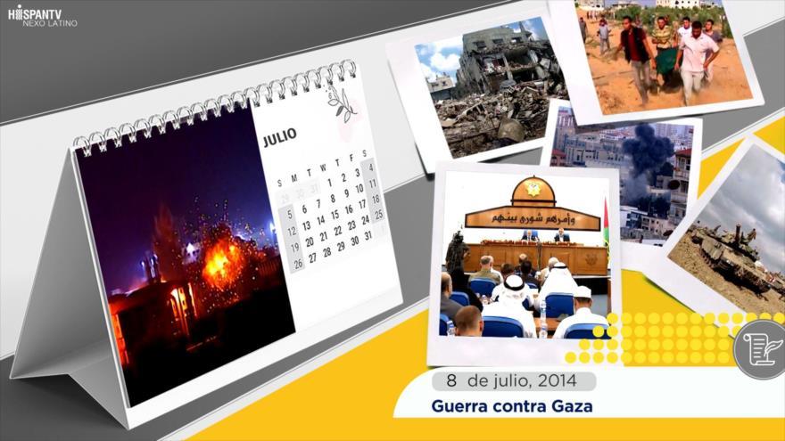 Esta Semana en la Historia: Guerra contra Gaza
